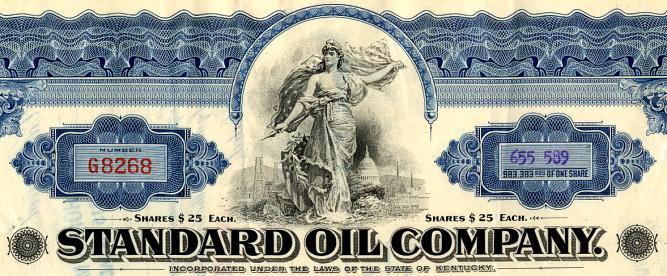 Standard Oil Company Monopoly